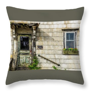 Throw Pillow featuring the photograph Eight by Paul Wear