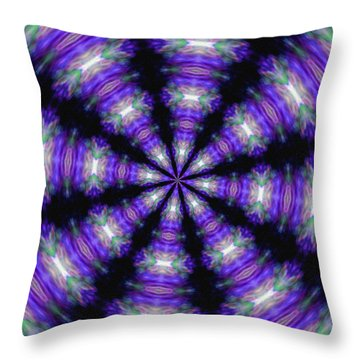 Eight...transform Throw Pillow by Tom Druin