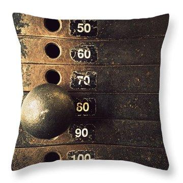 Eighty Throw Pillow by Joseph Skompski