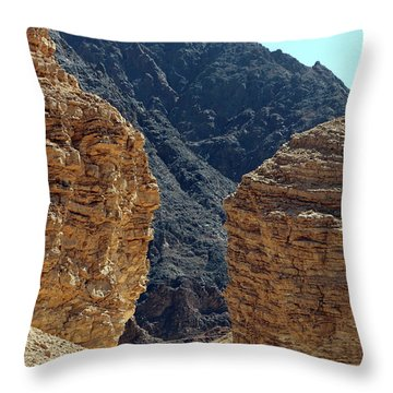 Eilat-israel Throw Pillow