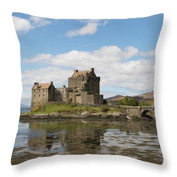 Eilean Donan Castle - Scotland Throw Pillow