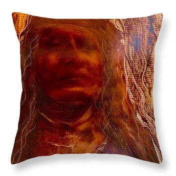 Wisdomkeepers Throw Pillow by FeatherStone Studio Julie A Miller