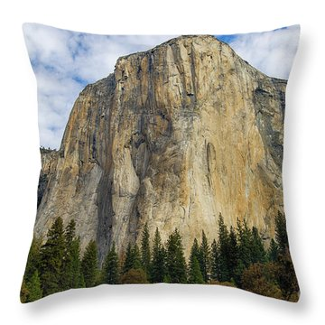 El Cap #2 Throw Pillow