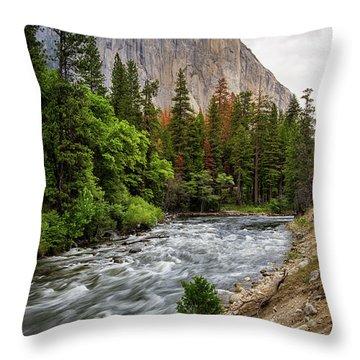 El Cap #3 Throw Pillow