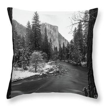 El Cap  Throw Pillow
