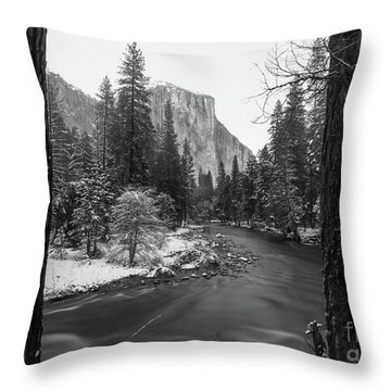 El Cap  Throw Pillow