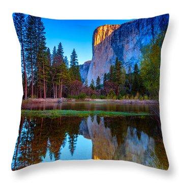 El Capitan Throw Pillow by Rick Berk