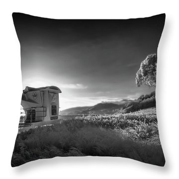 Throw Pillow featuring the photograph El Capitan by Sean Foster