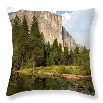 El Capitan Yosemite National Park California Throw Pillow
