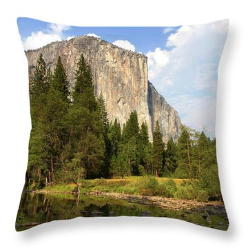 El Capitan Yosemite National Park California Throw Pillow