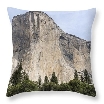 El Capitan Yosemite Valley Yosemite National Park Throw Pillow