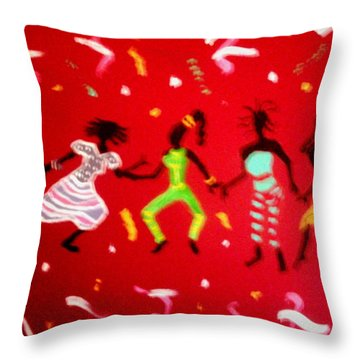 El Carnaval2 Throw Pillow