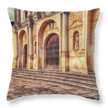 Throw Pillow featuring the photograph El Centro by Charles McKelroy