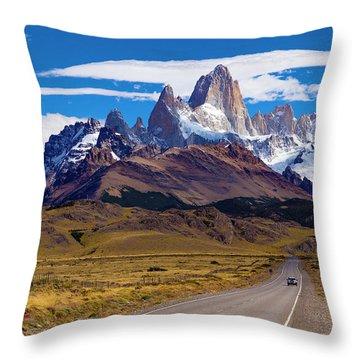 El Chalten 0001 Throw Pillow