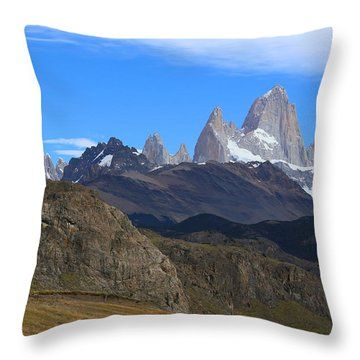 El Chalten Throw Pillow