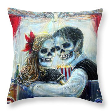 El Cine Throw Pillow