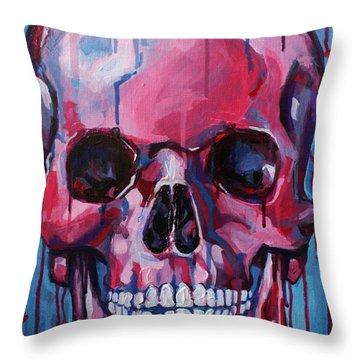 El Corazon Throw Pillow by Julia Pappas