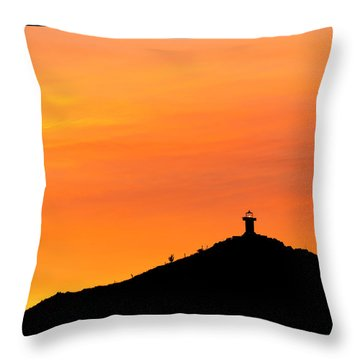 El Faro Throw Pillow