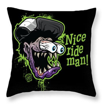 El Freak-o Throw Pillow