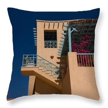 El Gouna Cubism Throw Pillow by Aivar Mikko