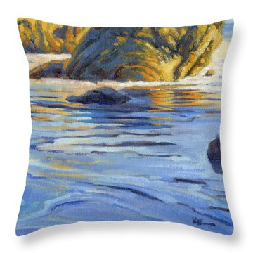 Pacific Reflections 2 Throw Pillow