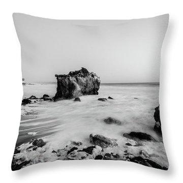 El Matador State Beach Throw Pillow