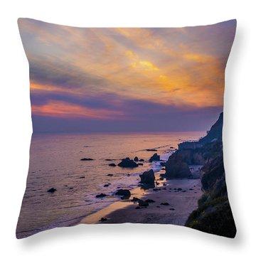 El Matador Sunset Throw Pillow