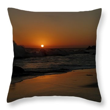 El Matador Sunset Throw Pillow by Ivete Basso Photography