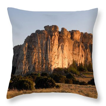 El Morro Throw Pillow by David Lee Thompson