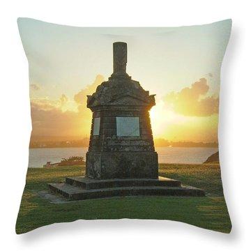 El Morro San Juan Puerto Rico Throw Pillow