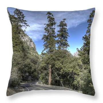El Portal Throw Pillow