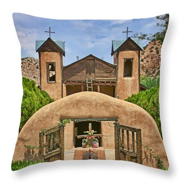 El Santuario De Chimayo #2 Throw Pillow