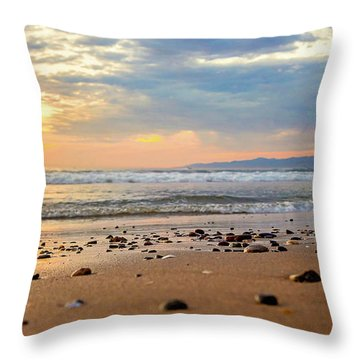 El Segundo Beach Throw Pillow