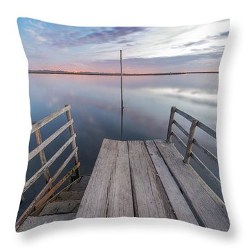 Throw Pillow featuring the photograph El Stick by Bruno Rosa