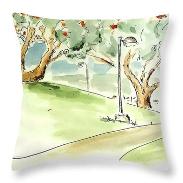 El Toro Park Throw Pillow