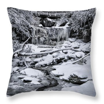 Elakala Falls Throw Pillow