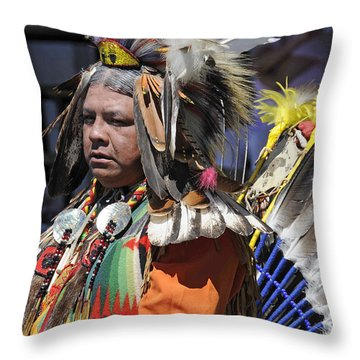 Elder Throw Pillow