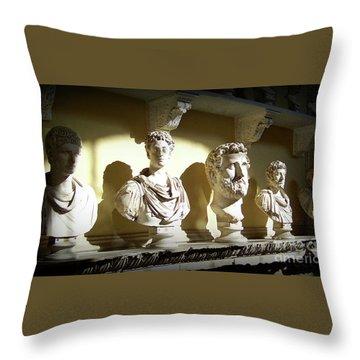 Elder Statesmen Throw Pillow