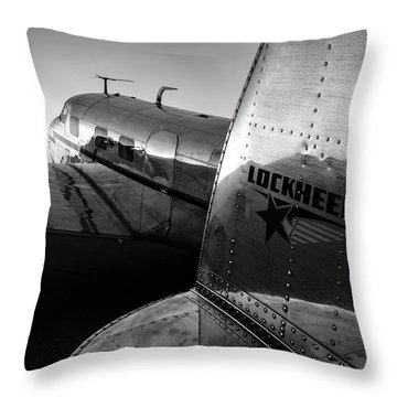 Electra Daybreak Throw Pillow