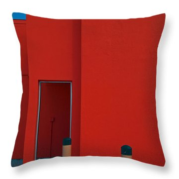 Electric Back Throw Pillow
