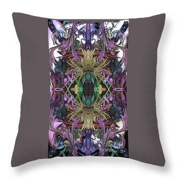 Electric Eye 2 Throw Pillow