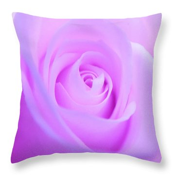 Electric Pink Throw Pillow