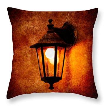 Throw Pillow featuring the photograph Electrical Light by Alexander Senin