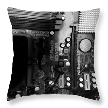 #electronics #technology #tech Throw Pillow