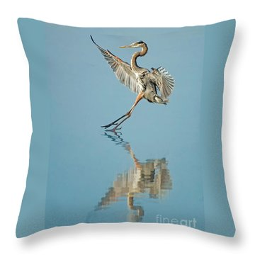 Elegance Throw Pillow by Alice Cahill