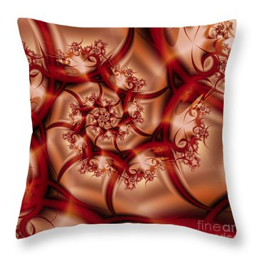 Elegance Throw Pillow by Michelle H