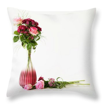 Throw Pillow featuring the photograph Elegance by Wendy Wilton