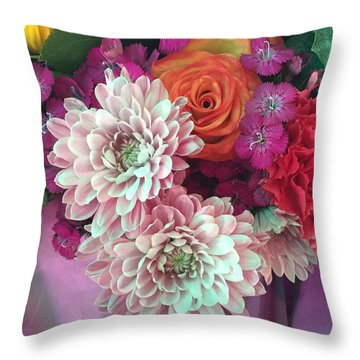Elegant And Romantic Throw Pillow