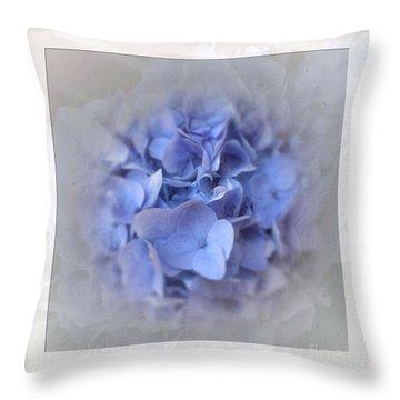 Elegant  Hydrangea Throw Pillow