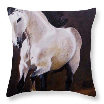 Elegant Throw Pillow by Jean Yves Crispo